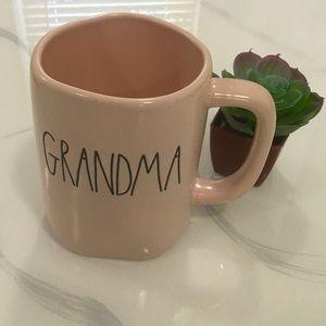 Rae Dunn Pink GRANDMA Mug NWT